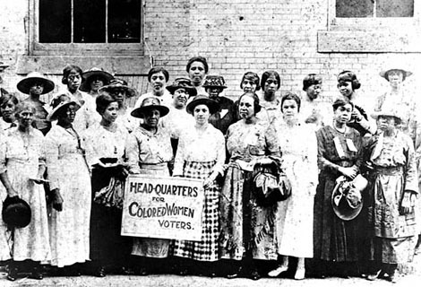 In Celebration (and Criticism) of Women's Suffrage – The Revolution  (Relaunch)